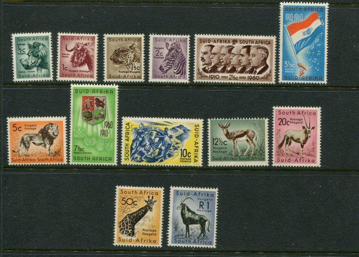 South Africa #241-53 MNH