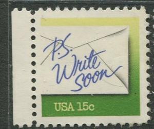 USA - Scott 1808 - Letter Writing Week -1980- MLH - 1 X 15c stamp
