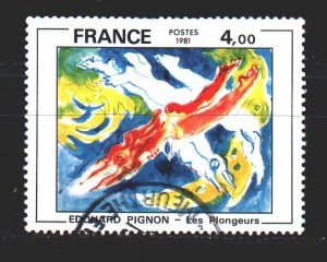 France. 1981. 2286. Paintings. USED.