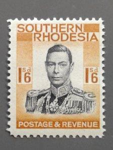 Southern Rhodesia 51 F-VF MLH. Scott $ 8.50