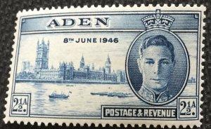Aden #29 *MH* Single King George London