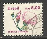 BRAZIL 2181 VFU FLOWER J1029-5