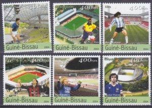 2004 Guinea-Bissau 2719-2724 2006 FIFA World Cup Germany 8,00 €
