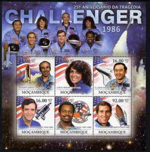 Mozambique MNH S/S Challenger 1986 Space Tragedy 2011
