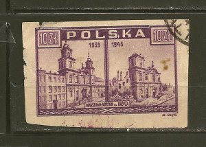 Poland 379 Imperforated Used