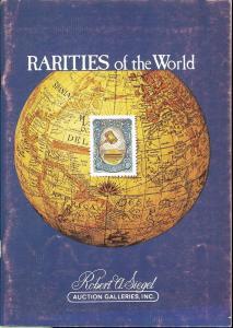 Rarities of the World 1978, Robert A. Siegel Auction Gall...