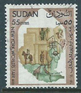 Sudan, Sc #169, 55m Used