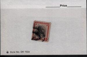 US 834 Used Calvin Coolidge