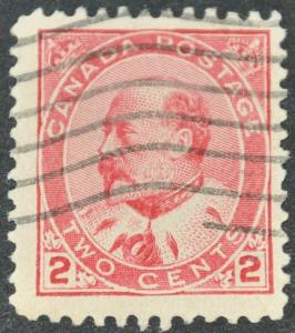 DYNAMITE Stamps: Canada Scott #90 - USED