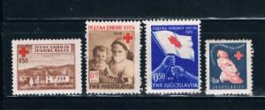 Yugoslavia Ra5-6;RA7;RA9 MH Tax Due (Y0069)