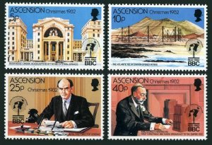 Ascension 317-320,MNH.Michel 328-331. Christmas 1982,Broadcasting,50 Ann.