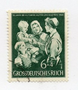 Germany 1943 Early Issue Fine Used 6pf. NW-100703
