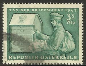 Austria 1965 Semi-postal Scott# B321 Used