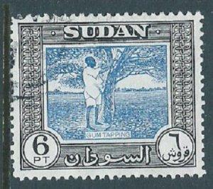 Sudan, Sc #110, 6pi Used