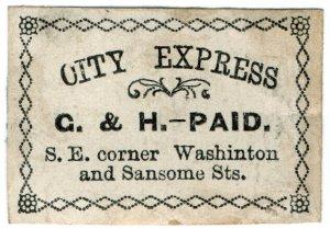 (I.B) US Local Post : G&H City Express