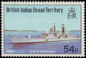 1991 British Indian Ocean Territory #115-118, Complete Set(4), Never Hinged