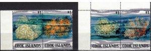 Cook Islands #581a-d, MNH