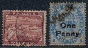 Malta #19-20 CV $2.55
