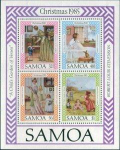 Samoa 1985 SG715 Christmas MS MNH