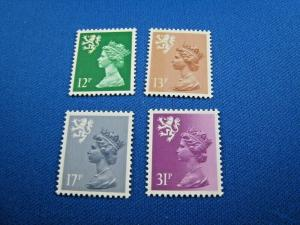 GREAT BRITAIN-SCOTLAND  -  SCOTT #SMH18//SMH57  -  MNH    (wwg3)