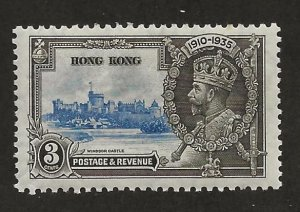 HONG KONG SC# 147  FVF/MOG  1935