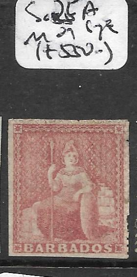 BARBADOS   (PP0810B) BRITANNIA SG 25A IMERF SINGLE  MOG