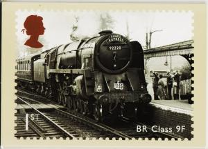 Great Britain. 2010 Great British Railways. PHQ Cards(6) Unused