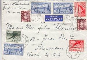1951, Aurland, Norway to Bremerton, WA, See Remark (27634)