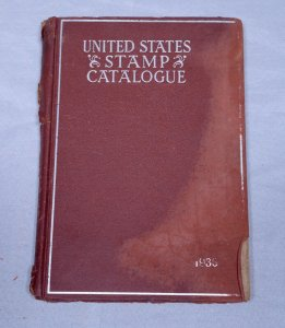 1936 SCOTT Specialized UNITED STATES Stamps Postage Catalogue Hardcover 220+ Pgs