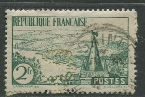 France - Scott 299 - General Issue -1935 - Used -Single 2fr Stamp