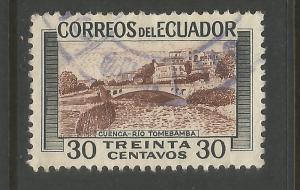 ECUADOR 579 VFU Z6920-2
