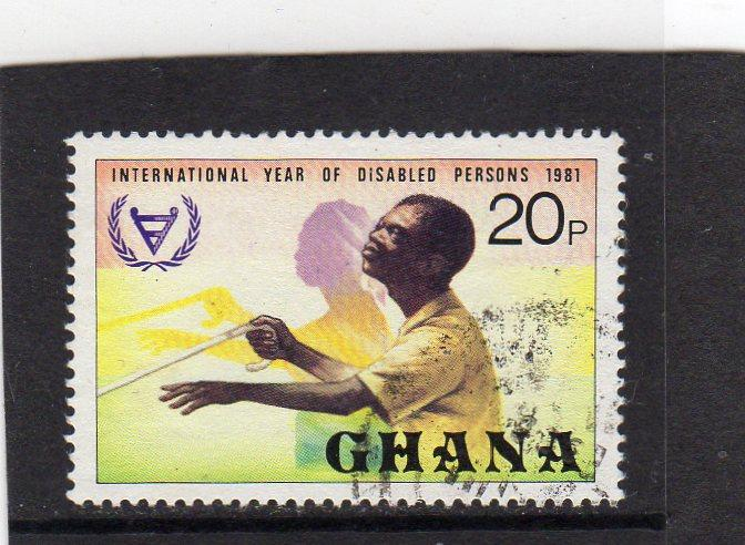 Ghana Int Year of Disabled Persons used