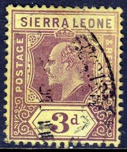 Sierra Leone - Scott #95 - Used - SCV $3.25