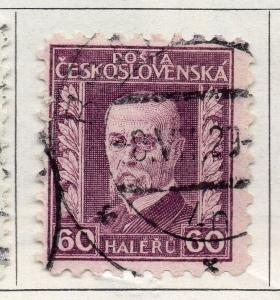 Czechoslovakia 1925 Early Issue Fine Used 1h. 086392
