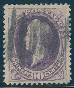 US Scott #218 Used, VF, PFC