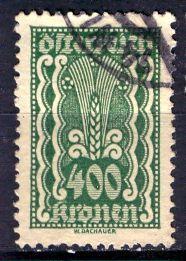 Austria; 1922: Sc. # 276: O/Used Single Stamp