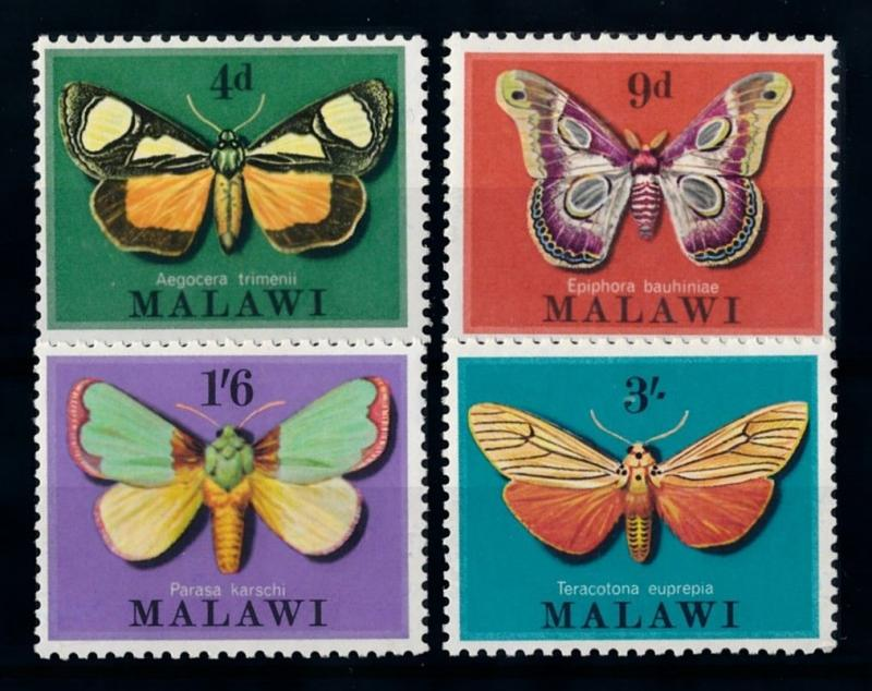 [70669] Malawi 1970 Insects Butterflies  MNH