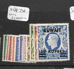 KUWAIT  (PP0705B)  ON GREAT BRITAIN  KGVI   SG  64-73A  MOG