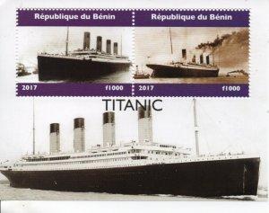 Benin 2017 Titanic .