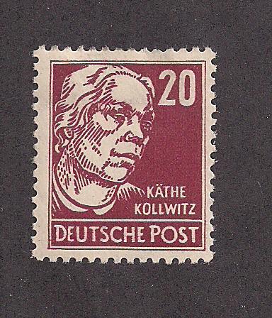 GERMANY - DDR SC# 128 F-VF OG 1953