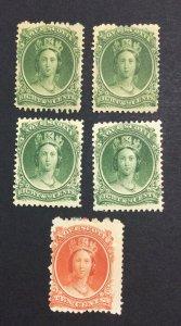 MOMEN: CANADA NOVA SCOTIA SG # MINT OG H £ LOT #7151