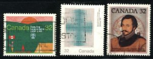 Can #993-95   -2   used VF 1983 PD