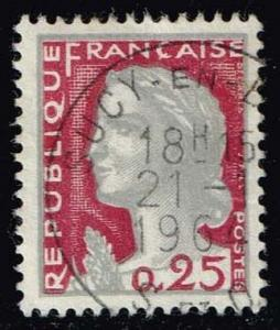 France #968 Marianne; Used (0.25)