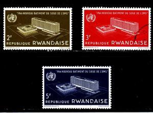 Rwanada - #161 - 163 WHO Headquarters - CTO