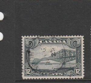 Canada 1929 12c Grey Black FU SG 282