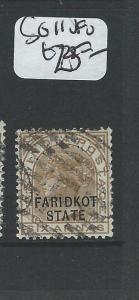 INDIA FARIDKOT (PP0804B) QV 6A  SG 11    VFU