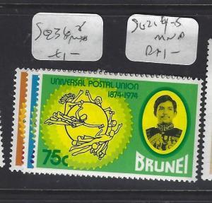 BRUNEI  (P2608B)     UPU  SG 236-8  MNH