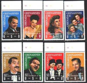 Saint Vincent and the Grenadines. 1992. 1573-80. Actors of cultural programs ...