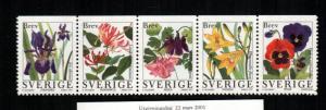 Sweden  2227 - 2231   MNH cat $10.50  aaa