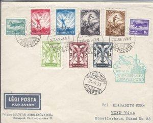 1933, 1st Flt, Budapest, Hungary to Wein, Austria, See Remark (24414)